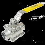 Kulový ventil přivařovací